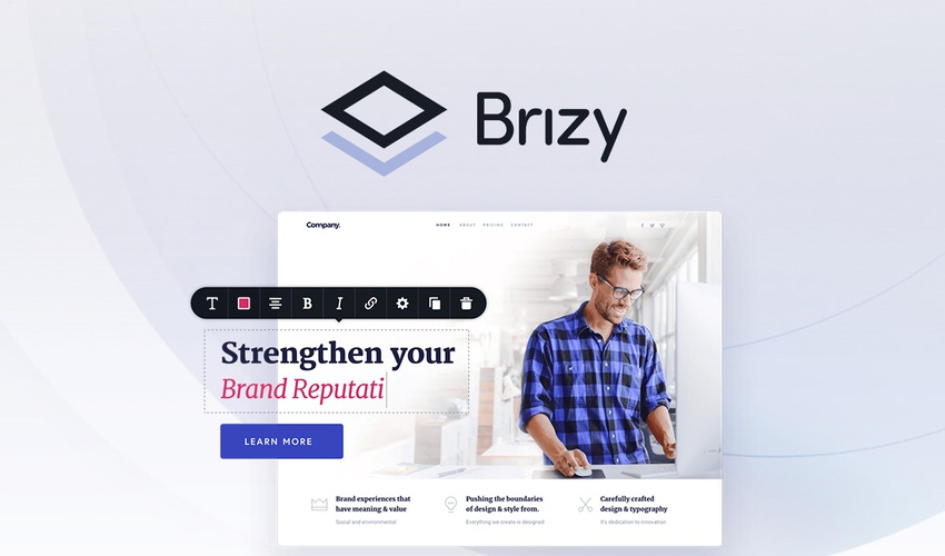 Business Legions - Lifetime Deal to Brizy for $49