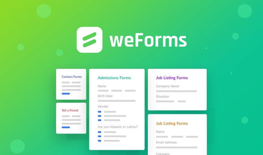 Business Legions - Lifetime Deal to weForms for $49