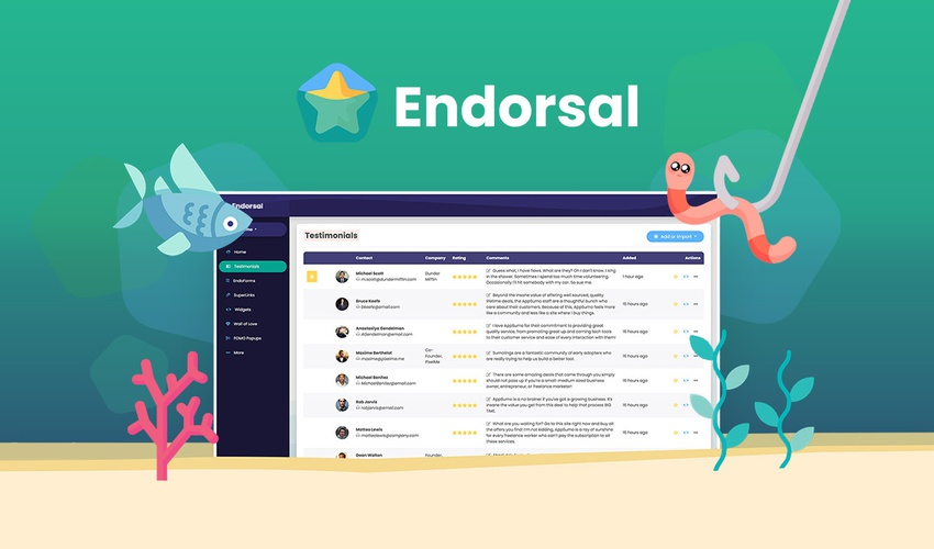 Lifetime Deal to Endorsal for $49
