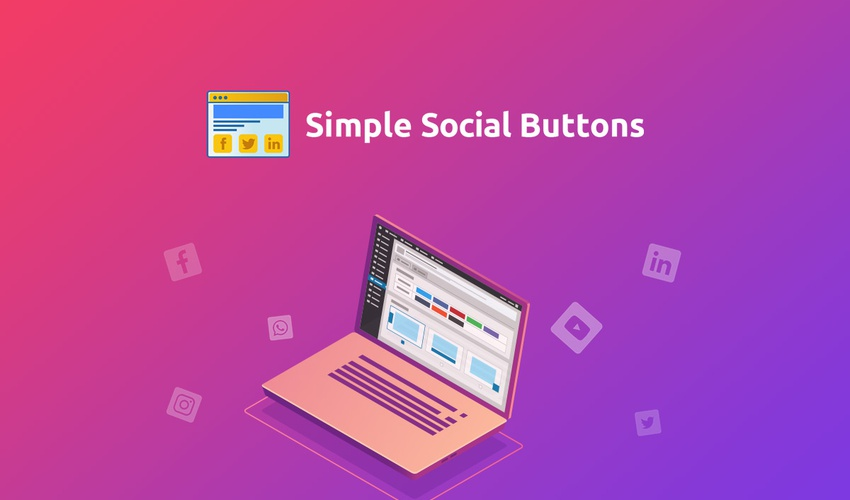 Lifetime Deal to Simple Social Buttons for $39
