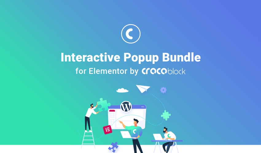 Lifetime Deal to Interactive Popup Bundle for Elementor by Crocoblock for $29