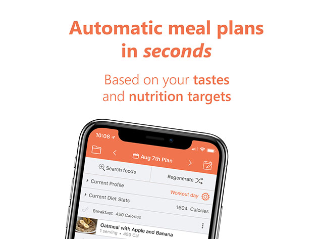 Eat This Much–Automatic Meal Planner: 3-Yr Subscription for $59