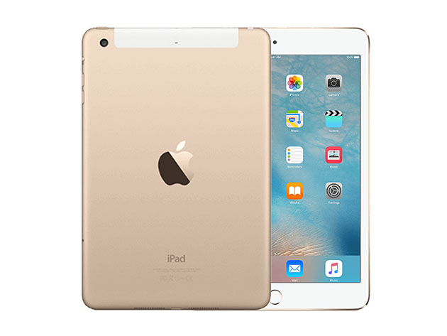 Apple iPad Mini 3 16GB – Gold (Wi-Fi + GSM/CDMA Unlocked) for $239