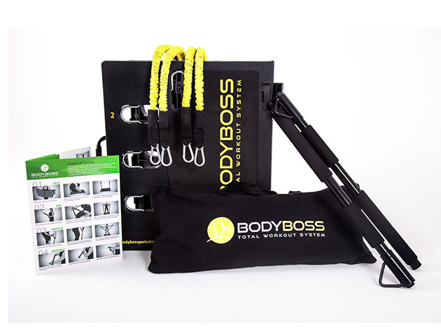 BodyBoss 2.0: Portable Home Gym + Extra Bands for $199