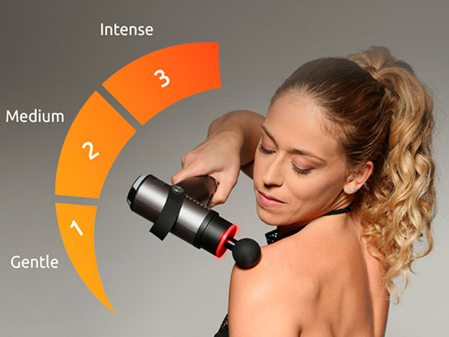 Evertone™ Prosage Thermo: Percussion Massager with Warm-Up Technology for $149