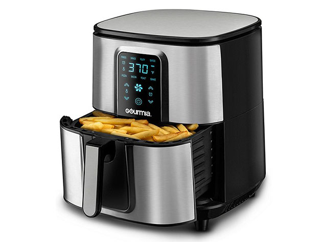 Gourmia® GAF735 7-Qt Stainless Steel Digital Air Fryer for $99