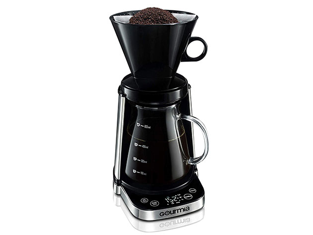 Gourmia® GCM3250 Dual Mode Pourfect Pour-Over Coffee Maker for $59