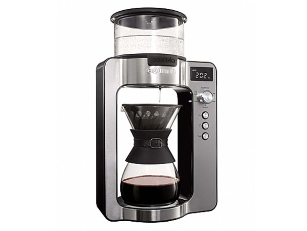 Gourmia® GCM3350 Pourista Fully Automatic Pour-Over Coffee Brewer for $129