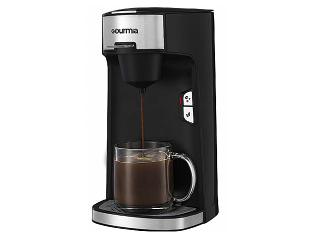 Gourmia® GCM3600 Single Serve Coffee & Tea Maker for $59