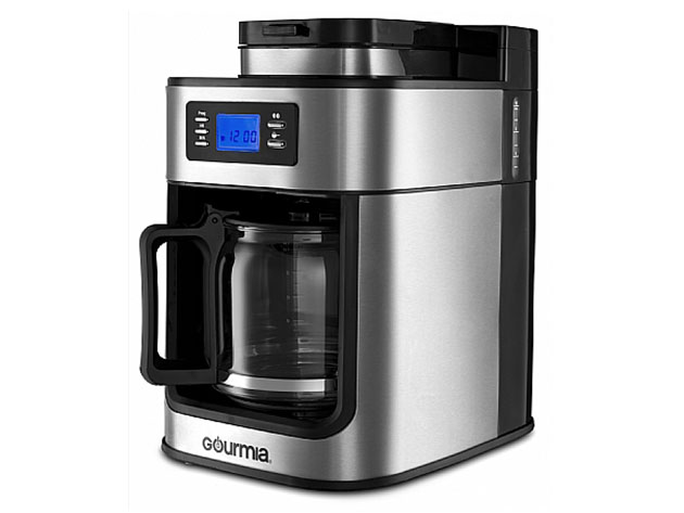 Gourmia® GCM4700 Coffee Maker with Built-In Grinder for $99