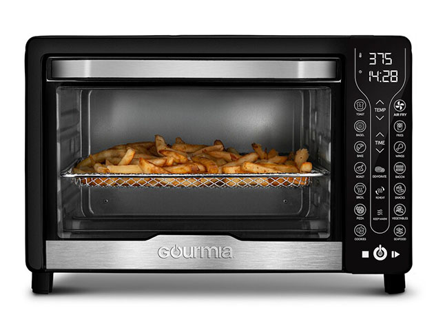 Gourmia® GTF7450 17-in-1 Digital Air Fryer Oven for $129