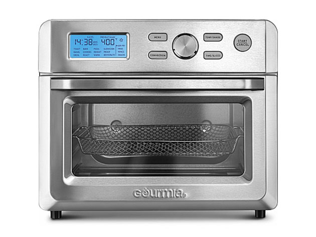 Gourmia® GTF7600 0.7Ft³ 16-in-1 Digital Stainless Steel Air Fryer Oven for $129