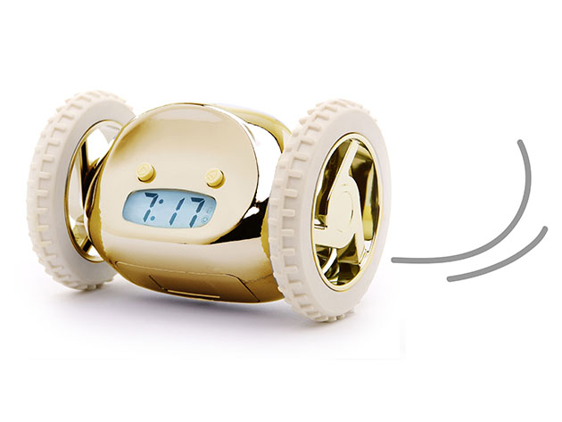 Clocky: The Runaway Alarm Clock for $33