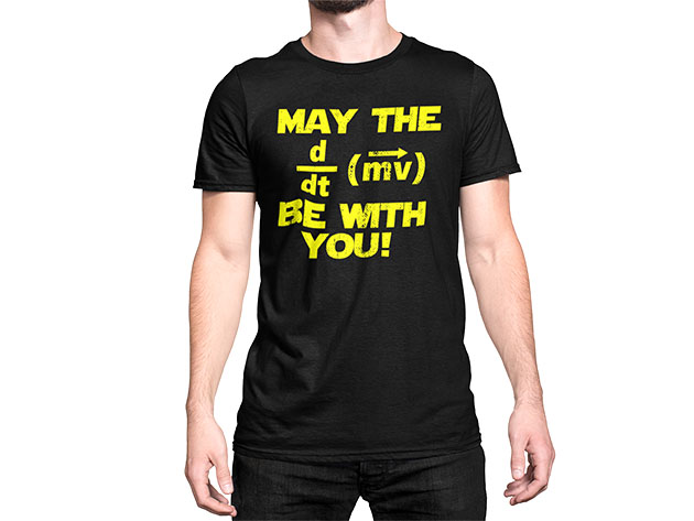 MAY THE F BE WITH YOU T-Shirt for $25