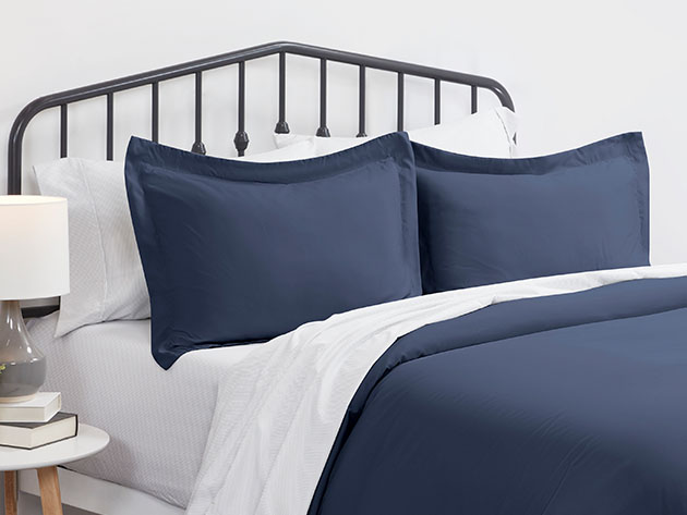 Home Collection Premium Ultra Soft 3-Piece Duvet Cover Set for $39