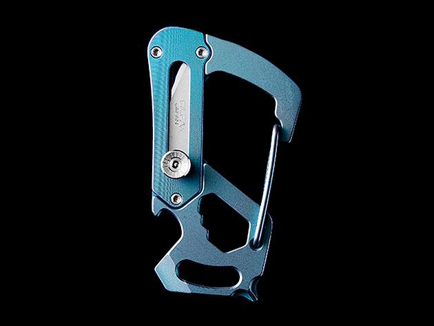 Carabiner Multi-Tool Knife for $54