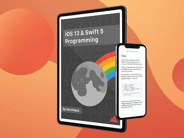iOS 13 & Swift 5 Programming eBook for $9