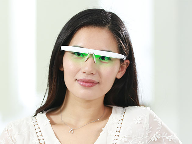 PEGASI 2: Smart Light Therapy Glasses for $219