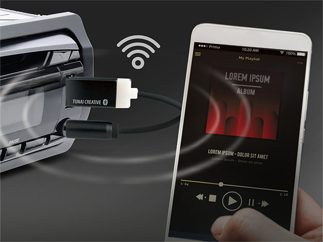 TUNAI Firefly Bluetooth Receiver  for $29