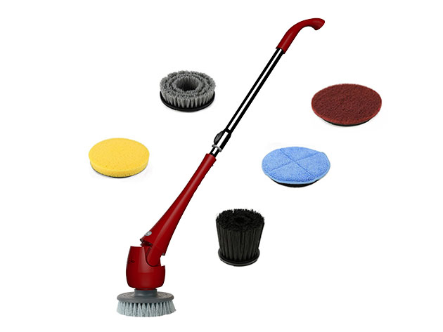 Elicto ES-100 Waterproof Telescopic Power Scrubber for $119