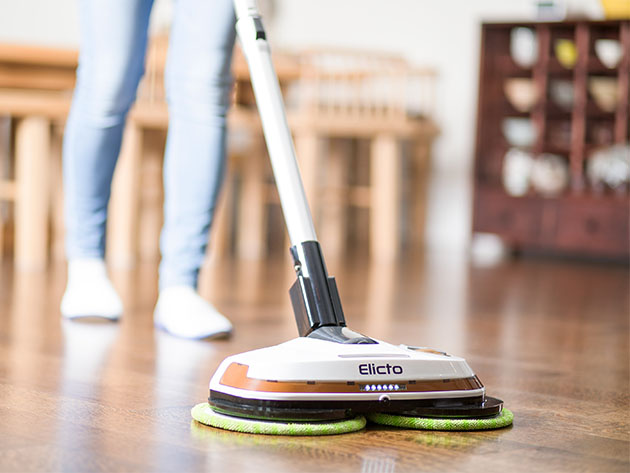 Elicto ES-530 Electronic Cordless Spin Mop & Polisher for $149