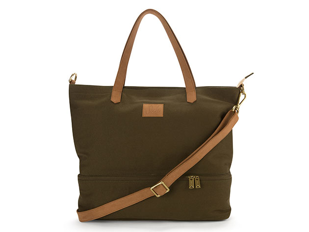 Canvas Travel Bag in Olive for $139