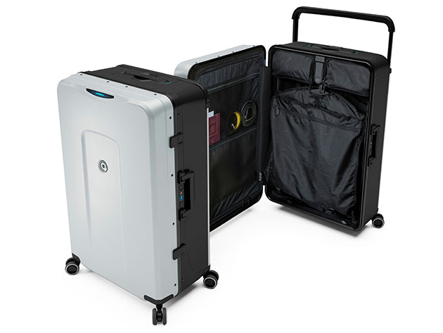 Plevo: Up – World's First Vertical Luggage for $539