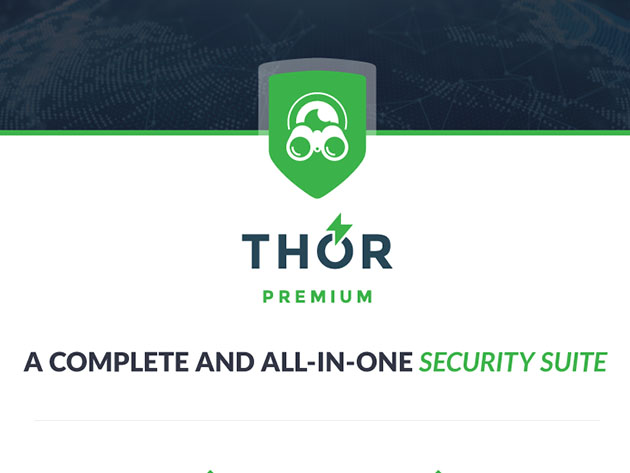 Heimdal™ Thor Premium: All-in-One Security Suite for $59