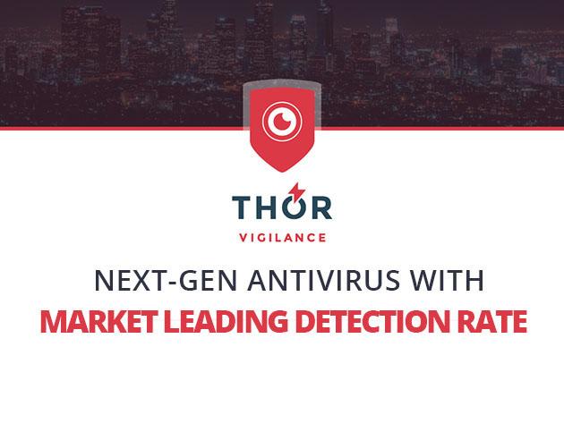 Heimdal™ Thor Vigilance: Next-Gen Antivirus for $39