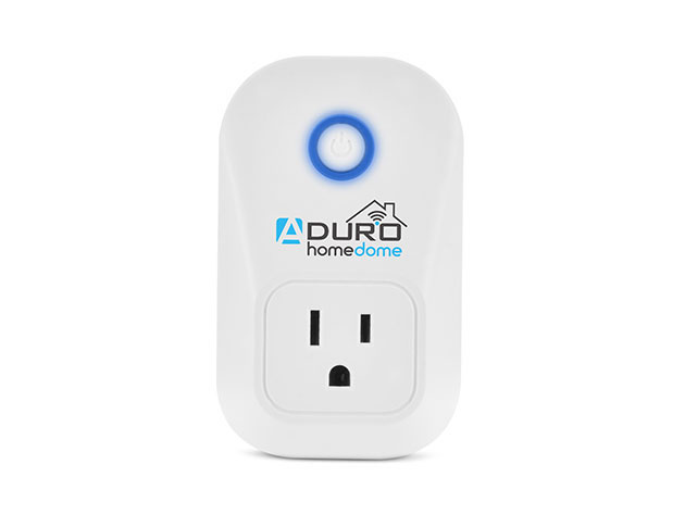 HomeDome Smart Outlet with Voice Control for $17