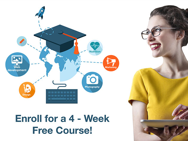 Shaw Academy: FREE 4-Week Course for $0