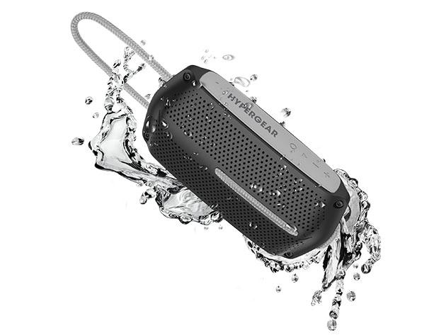 HyperGear Wave Water Resistant Wireless Speaker for $34