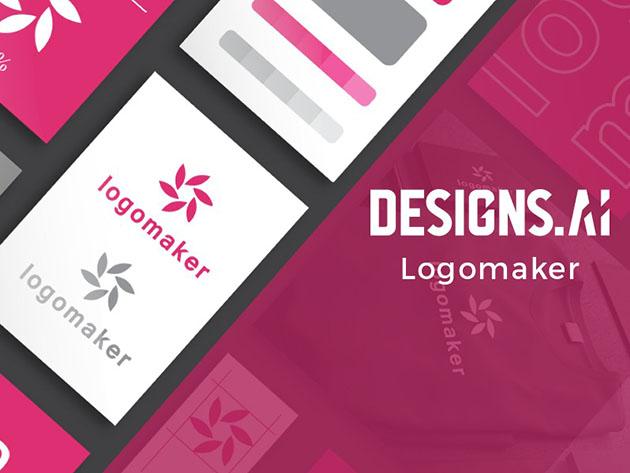 Designs.ai Logomaker Premium Plan for $18