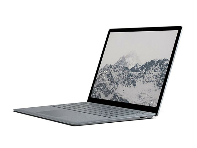 Surface Book 13.5″ Core i7 256GB – Platinum (Factory Recertified) for $1,109