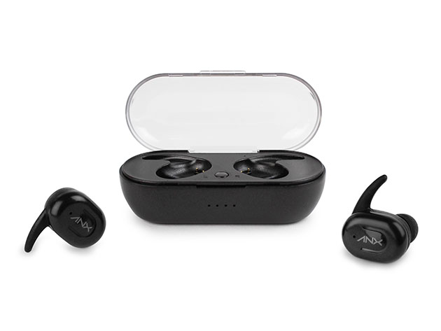 Sync-Buds Bluetooth 5.0 TWS Earbuds with Charging Case for $24