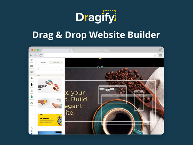Dragify Website Builder: 1-Yr Subscription for $29