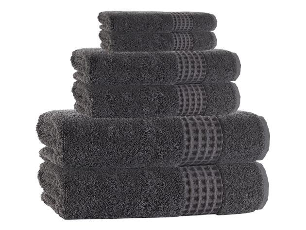 Ela Turkish 6-Piece Towel Set for $49