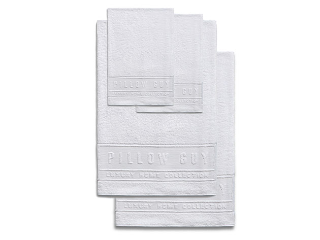 Luxe Pillow Guy Bath & Hand Towel Bundle for $59