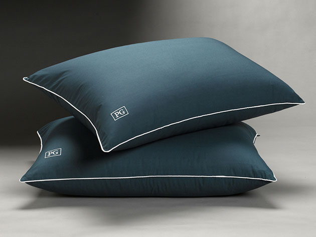Overstuffed Side/Back Sleeper Down Alternative Pillow: 2-Pack for $84