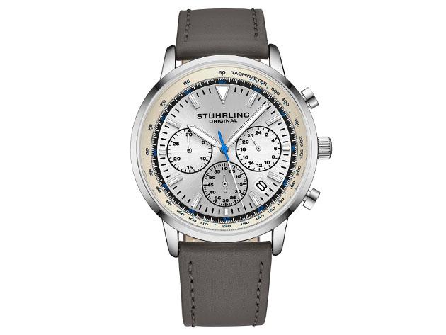 Quartz 44mm Chronograph Men's Watch for $99