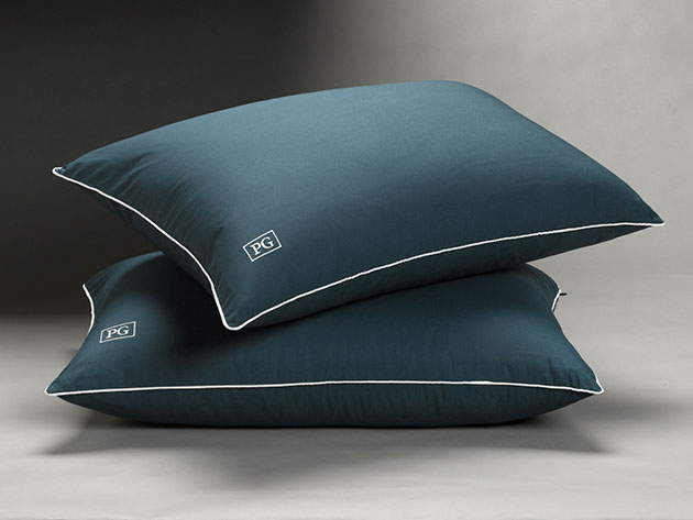 Soft Stomach Sleeper Down Alternative Pillow: 2-Pack for $84