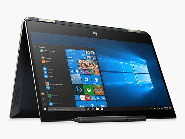 HP Spectre x360 13″ Touch Laptop Intel Core i7 16GB RAM 512GB SSD – Blue (Certified Refurbished) for $1,099