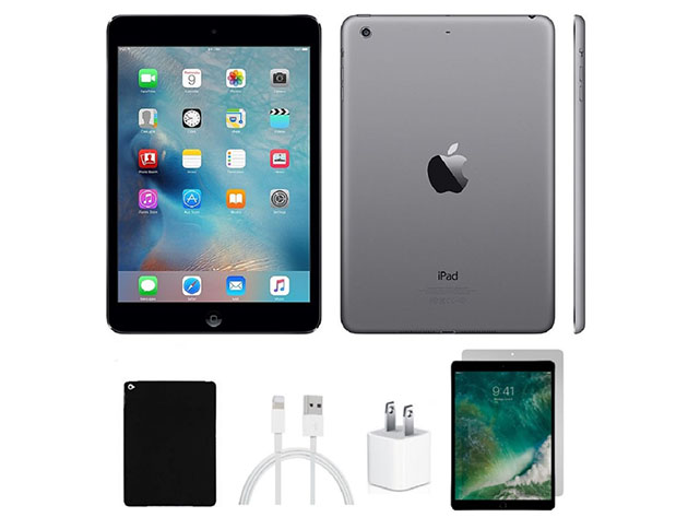 Apple iPad Mini 2 32GB (Refurbished: Wi-Fi Only) + Accessories Bundle for $142