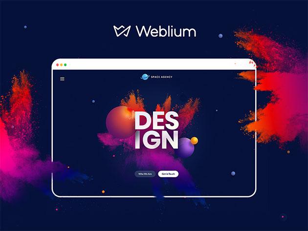 Weblium Landing Page Pro: Lifetime Subscription for $49