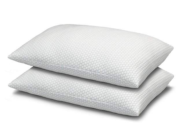 Cool N' Comfort Gel Fiber Pillow with CoolMax Technology: 2-Pack for $36