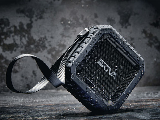 Skiva SoundCube Waterproof Bluetooth Speaker for $23