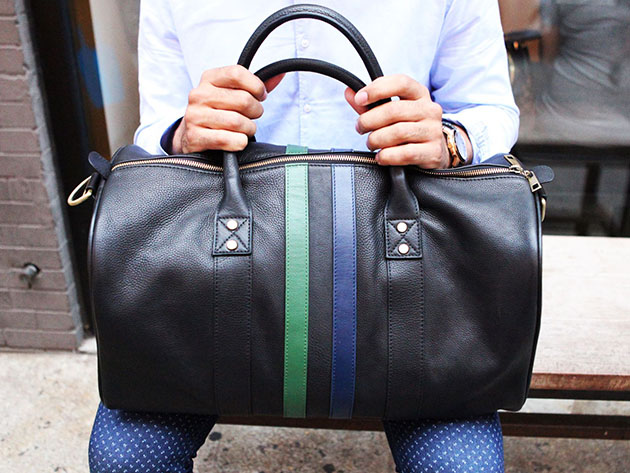 Leather Duffle Bag  for $297