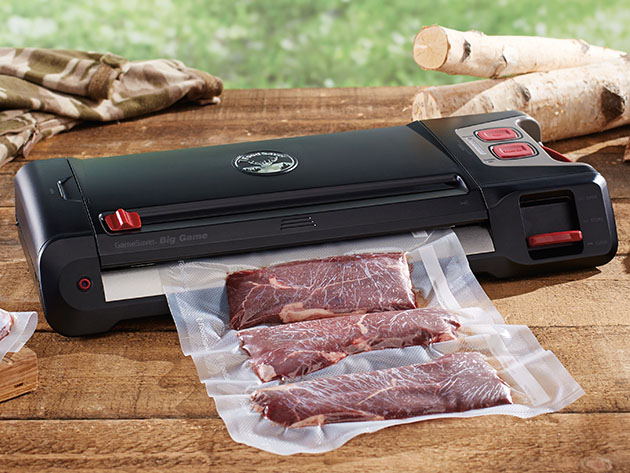 FoodSaver® GameSaver® Big Game Plus Vacuum Sealer for $104
