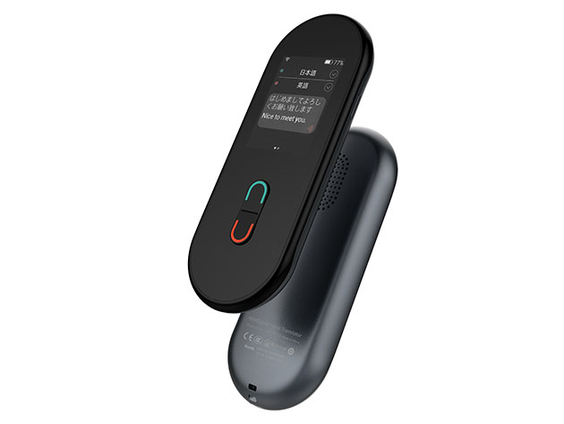 Freesay Two-Way Voice Translator for $169