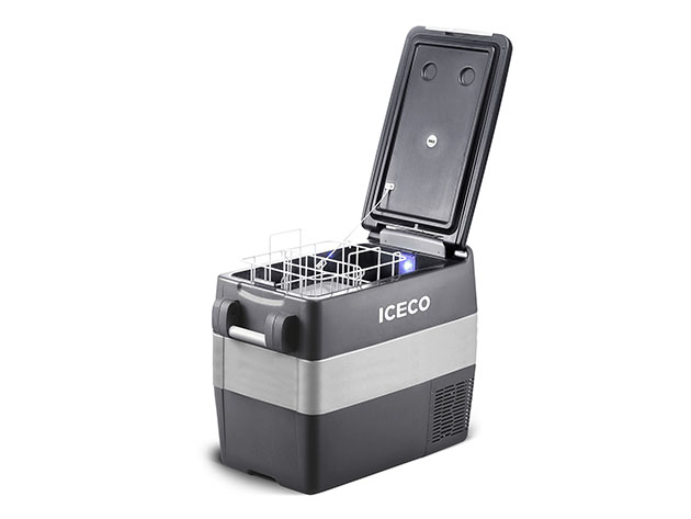 ICECO JP: 40L Portable Fridge Freezer with SECOP Compressor for $429